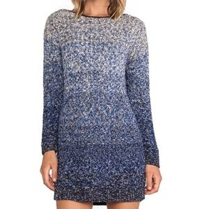 Maison Scotch | Woven Knit Sweater Dress